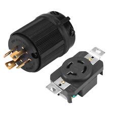 NEMA L14-20R+L14-20P 20A 125/250V Plug Connector for Generator Cord Assembly DH