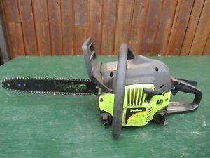 "Vintage POULAN Model P3314 33cc Chainsaw Chain Saw with 14"" Bar"