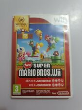New Super Mario Bros. Wii Nintendo Wii PAL España COMPLETO