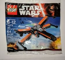 LEGO Star Wars 30278 Poe's X-Wing Fighter Brand New and Sealed Polybag
