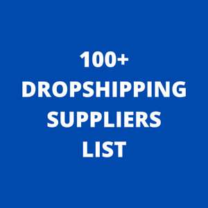 100 Dropshipping  Suppliers List ✅ $0.99 ✅ Drop Shipping ✅ UPDATE 2021