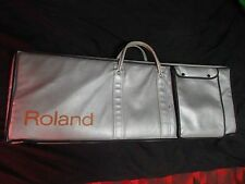 Vintage Roland LARGE SIZE Silver Carrying Case Carry Bag ep-09 Juno 106 jx-3p