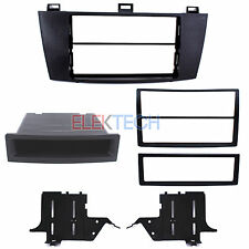 Radio Replacement Dash Install Mount Kit 2-DIN w/Pocket for Toyota Camry Solara