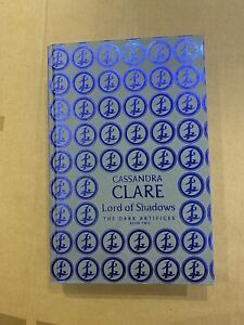 Cassandra Clare Lord of Shadows rune stamp signed 1st Waterstones Dark Artifices