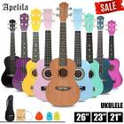 "21""/23"" Soprano Ukulele Acoustic Guitar Hawaii Music Instrument Beginner Apelila"