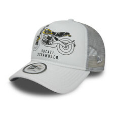 Ducati Motor Logo Bike Print Trucker | New Era cap | New w/Tags