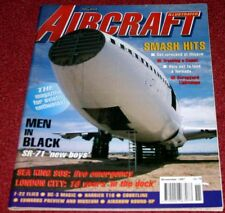Aircraft Illustrated 1997 November Court Line,London City,Harrier,DC3,SR71