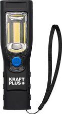 KRAFTPLUS® K.900-3710 COB-LED-Werkstattlampe 3,7V/2,2 Ah mit Magnetfuß & Hacken