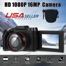 Digital Camera Video Camcorder Vlogging Full HD 1080P 16MP for YouTube Camera
