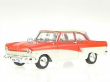 Ford Taunus 17M P2 Coupe deLuxe 1958 rot weiss Modellauto 1:43