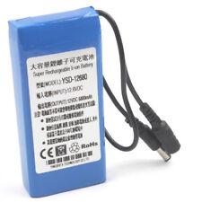 Rechargeable Battery 6800mAh 12V DC Li-ion Battery Pack for CCTV Camera