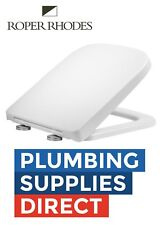 Roper Rhodes White Square Wrap Over Toilet Seat Soft Close Replaces RAK Vitra