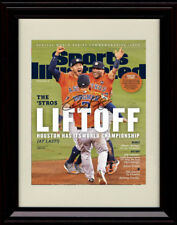 Framed Alex Bregman Sports Illustrated Autograph Replica Print Houston Astros