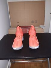 STYLE# Cj5612991 SZ 7.5 Lebron soldier Xlll Orange/ gray