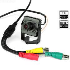 CCTV 2MP Full 1080P HD SDI Mini Box Security Camera 3.6mm Lens Metal Panasonic