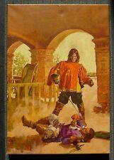 Originalzeichnung Titelbild Pabel  für Romanheft Nr. 20 Die Vier Musketiere 1976