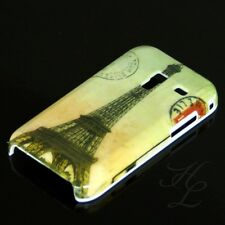 Samsung Galaxy Ace Plus S7500 Hard Case Hülle Cover Etui Paris Bunt Eiffelturm