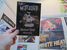 The Meteors - Video Nasty (DVD, 2006)PsychoBilly RockaBilly Punk Wreckin Crew Go