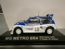MG METRO 6R4 RAC RALLY 1985 POND ALTAYA IXO 1:43
