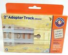 """Lionel 2"""" Adapter Train Track Learning Curve, Great Railway Adventures NEW"""