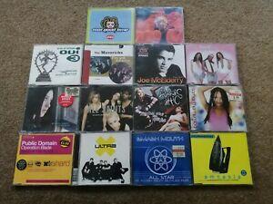 15 x CD Singles Joblot ADAMSKI OUI 3 MISTEEQ ALL SAINTS ULTRA X CHUMBAWAMBA more