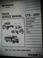 International Truck Service Manual CTS-4260 2000 3700 3800 4000 & 8000 Series v5