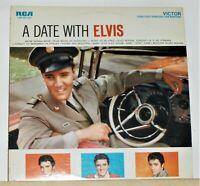 Elvis Presley -  A Date With Elvis  - 1977 LP Record Album - Vinyl Excellent