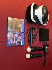Sony PlayStation VR psvr ps vr  With Rush Of Blood And VR Worlds
