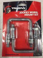 Trojan 75mm Galvanised U-Bolt Kit Jockey Wheel 271080
