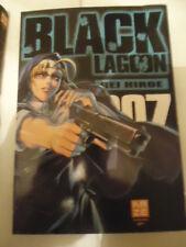 Black Lagoon - Tome 7  HIROE Rei KAZE MANGA SHONEN SEINEN TBE YAKUZA TERRORISTE