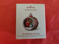 New ListingHallmark 2018 A World Within Miniature Keepsake Ornament Toy Soldier Drum