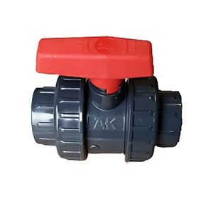 PVC Kugelhahn Typ Standard 2 x Klebemuffe AK