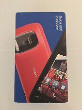 Nokia 808 PureView - 16 Go-Rouge (Débloqué) Smartphone