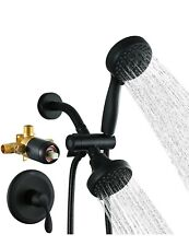 2 in 1 Shower Faucet with Valve, MLIAOCUK High-Pressure Rainfall Shower Combo...