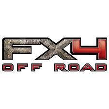 FX4 Off Road Mossy Oak Camo Decal - Brush