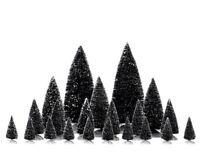 Lemax Bäume Set 21-Teilig  Weihnachtsdorf Baum Dekobaum Fichte Tanne Weihnachtt