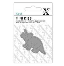 Triceratops Dinosaur - Mini Metal Die Set - 1pc - Xcut Docrafts