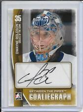 13-14 Between The Pipes Dwayne Roloson Autograph