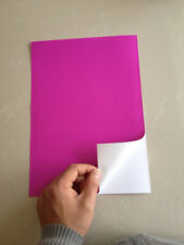 20pc A4 Purple Self Adhesive Sticker PP Synthetic Paper for Laser Printer