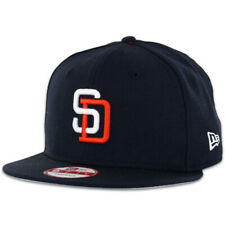 "New Era 9Fifty San Diego Padres ""Tony Gwynn 1"" Snapback Hat (Navy) Mens MLB Cap"