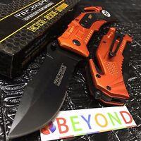 """Tac Force Spring Assisted Half Serrated Rescue Pocket Knife """"EMT"""" TF-688EMT"""