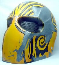 "New! Army of Two ""Bravo"" Custom Fiberglass Paintball / Airsoft Mask"