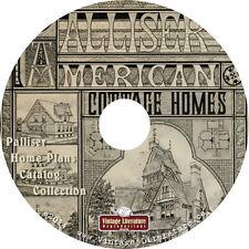 Palliser Home Plans Catalog Collection { 5 Vintage Blueprint Books } on DVD