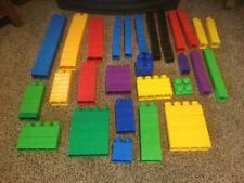 Pre Owned Mega Blocs Set.  146 Pieces.See Pictures For Included Pieces. #146.