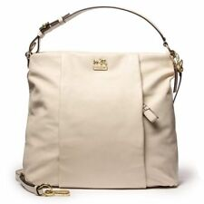 NWT COACH MADISON ISABELLA HOBO 21224 PARCHMENT HAND BAG
