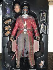 Hot Toys Guardian Galaxy Star Lord MMS 255 Sideshow Chris Pratt Avengers