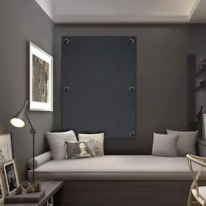 """GREY 38X39"""" Blackout Blind Suction Cup Curtain Bedroom Roof Windows Baby Travel"""