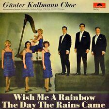 "7"" GÜNTER KALLMANN CHOR Wish Me A Rainbow CV ASTRUD GILBERTO JANE MORGAN POLYDOR"