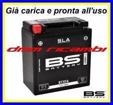Batteria BS SLA Gel PIAGGIO MP3 400 10>11 già carica e pronta all'uso 2010 2011