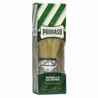 Proraso Large Chrome Shaving Brush (made from hogs hair) BNIB - UK STOCKIST